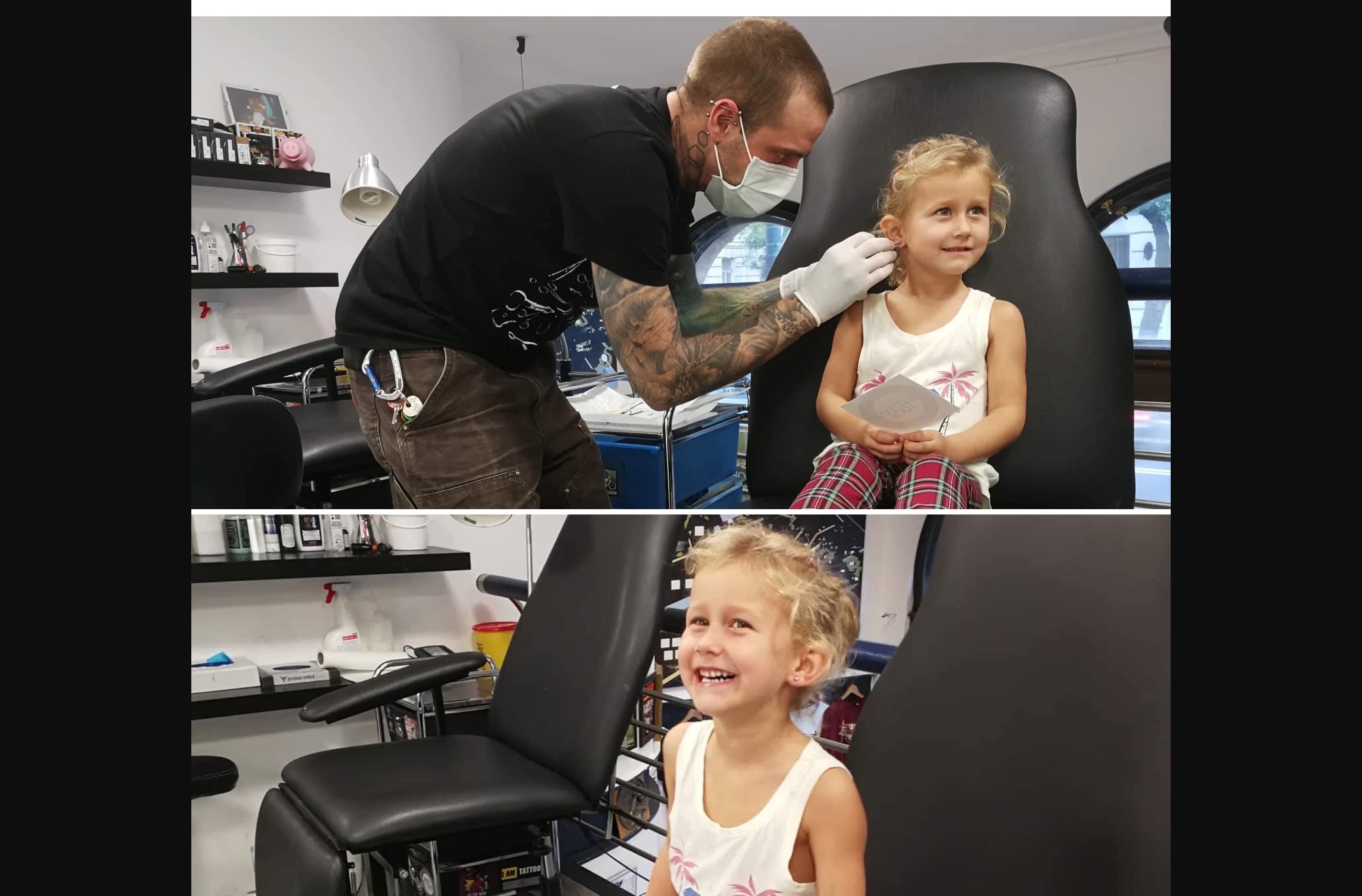 FIRST EAR PIERCING