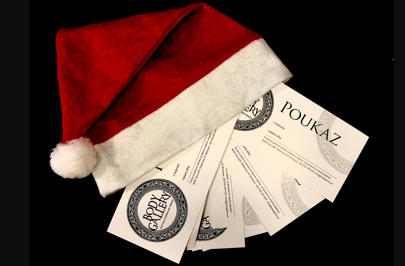 GIFT VOUCHER - GREAT GIFT FOR CHRISTMAS